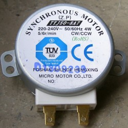 TYJ50-8A7 5/6r/min CW/CCW Synchronous Motor
