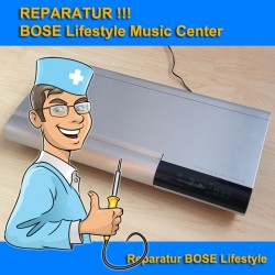 Reparatur BOSE Lifestyle 20 Music Center (CD-20)