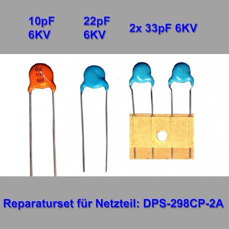 Reparaturset für DPS-298CP-A 2x33pf 2x47pf