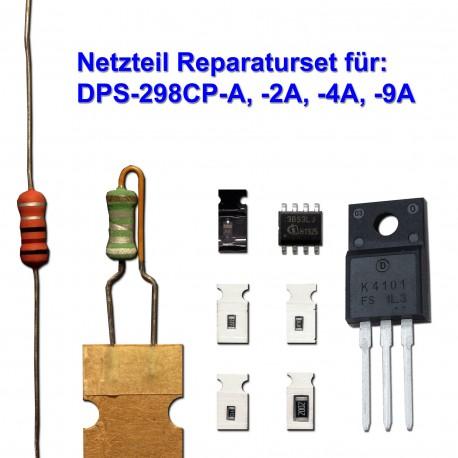 Reparaturset für DPS-298CP 2SK4101 + ICE3BS03LJ + SMD