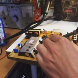 Reparatur DPS-126CP-1A Netzteil Board