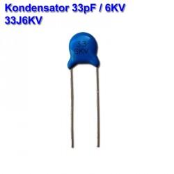 Kondensator 33pF / 6KV...