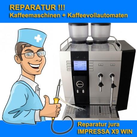 Reparatur Kaffeemaschine jura IMPRESSA X9 WIN