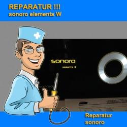 Reparatur Sonoro Elements W